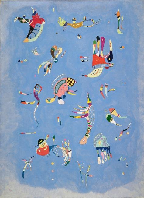 kandinsky_bleu de ciel 1940