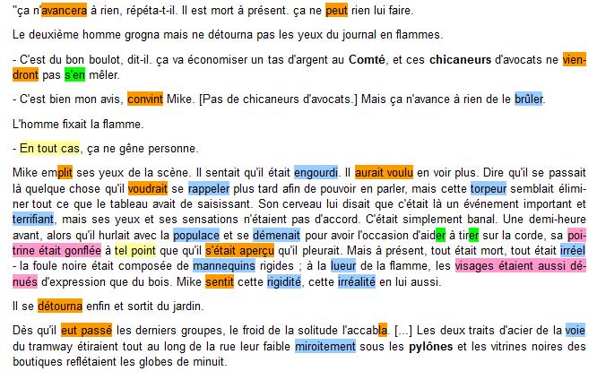 3- PS Roman STEINBECK Le Vigile ORTHOGRAPHE Texte