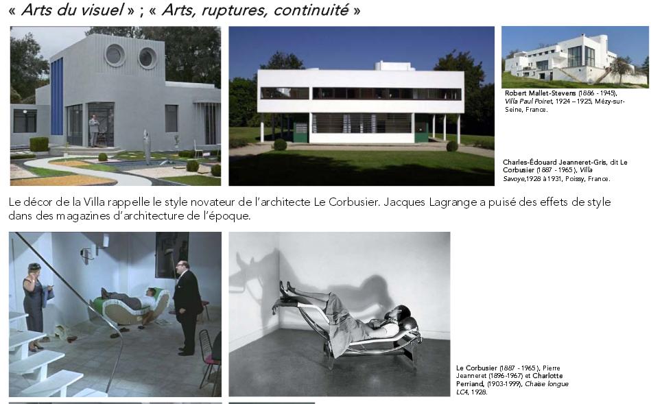 3- HIDA LE CORBUSIER La Cité rause (1947-1952) 3. Mise en ... Hda Chaise Longue Le Corbusier on