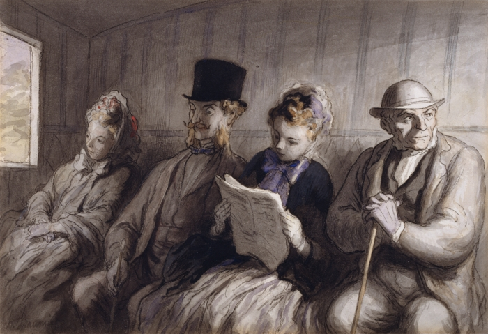 Honoré_Daumier_-_The_First_Class_Carriage_-_Walters_371225