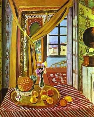 Henri MATISSE Intérieur et phonographe (1924) huile sur toile 101 x 81.2 cm