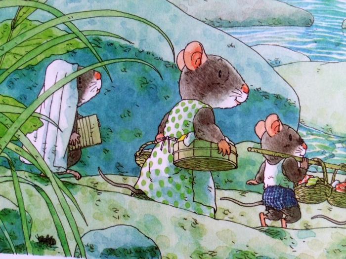 IWAMURA Kazuo La Lessive de la Famille Souris http://www.ecoledesloisirs.fr/auteur/kazuo-iwamura