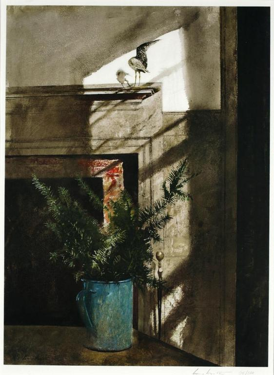 Andrew WYETH Bird in the house 1984