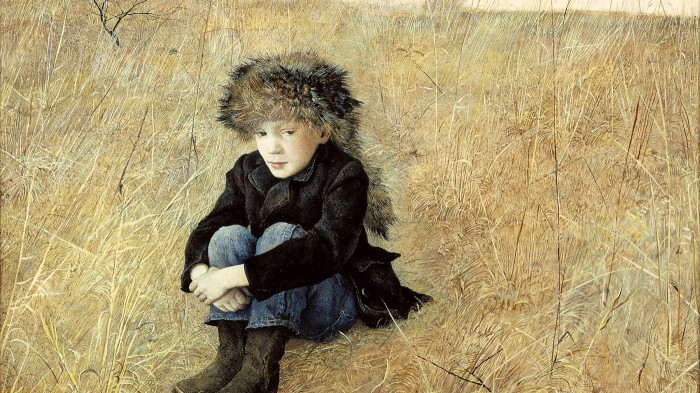 Andrew WYETH Faraway (1952)  © Andrew Wyeth/Courtesy The Phyllis and Jamie Wyeth Collection