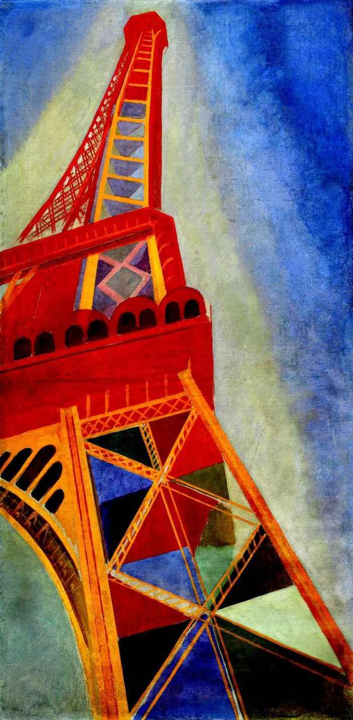 Robert Delaunay, La Tour Eiffel, 1926 Huile sur toile, 169 x 86 cm
