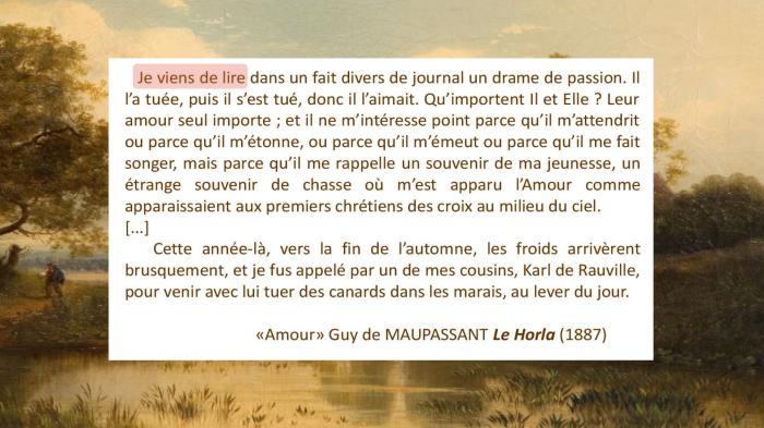 NP Texte Maupassant 2 Amour surligné