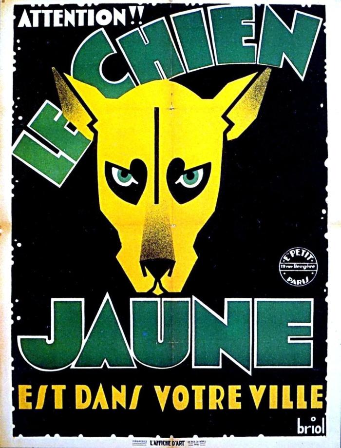Le Chien jaune (film) Jean TARRIDE (1932)