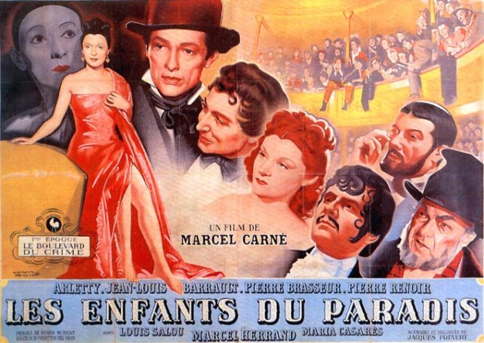Les Enfants du paradis Film de Marcel CARNE, scénario de Jacques PREVERT (1945)