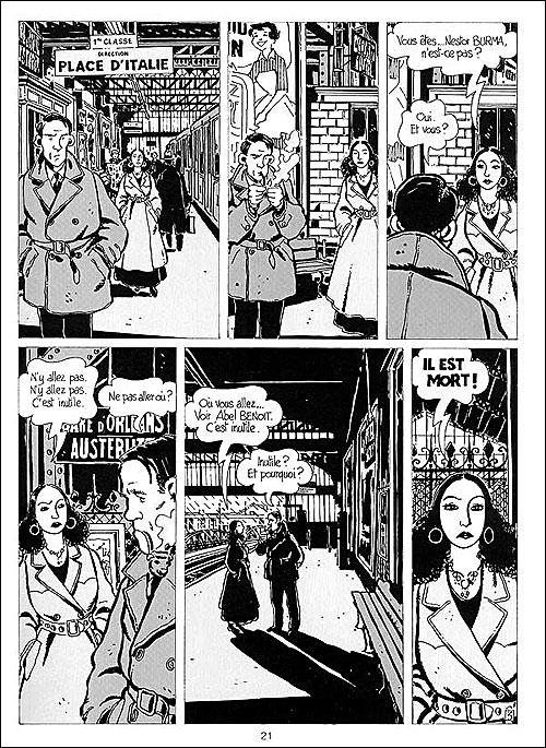 Léo MALAT Brouillard au pont de Tolbiac (1956) Illustré par J. TARDI (1982)