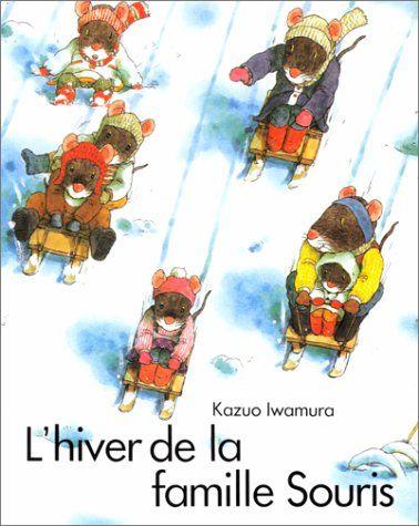 IWAMURA L'Hiver de la famille souris, couverture