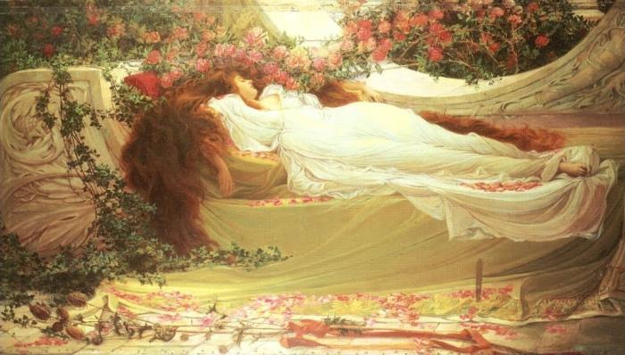Thomas Raph SPENCE Beauté endormie (XIXe siècle)