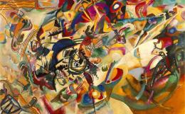 V. KANDINSKY Composition VII (1913)