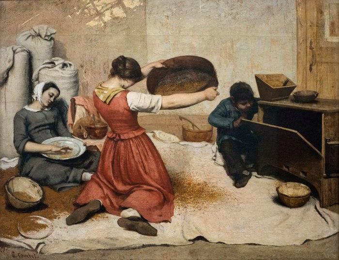 4 Histoire Des Arts Le Realisme En Peinture Decouverte Et Definition Activite Appareiller Des Images Le Fil De Laure