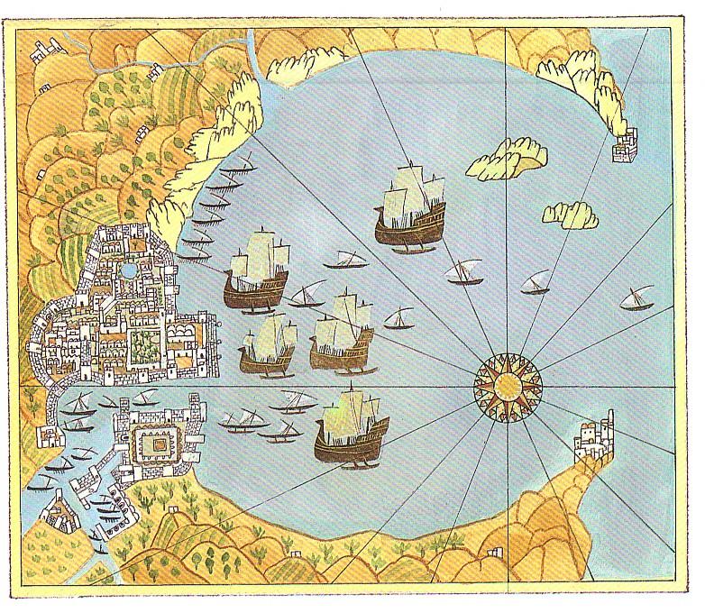 François PLACE Atlas des Géographes d'Orbae Golfe de Candaâ
